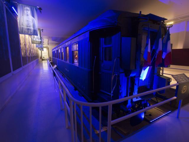 Compiègne _ Wagon de l'Armistice Rethondes © CRTC Hauts-de-France - Ludovic Leleu