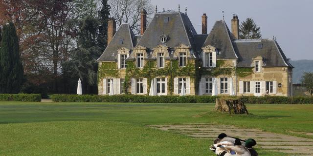 Chaumont-en-Vexin _golf Domaine de Rebetz © CRTC Hauts-de-France - P. Boucher