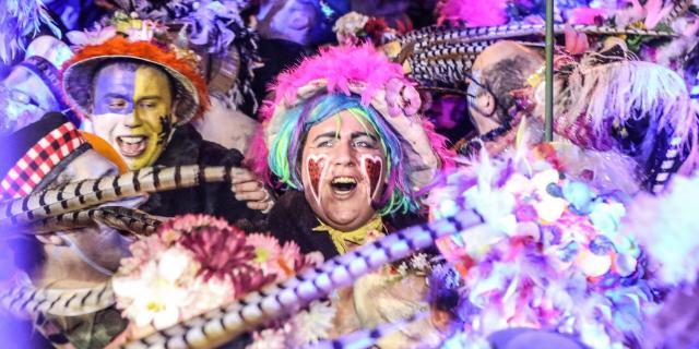 Dunkerque _ Carnaval gros plan sur le cortège © Ville de Dunkerque