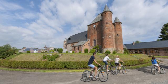 Englancourt, Eglise fortifiée ©CRTC Hauts-de-France - B.Teissedre