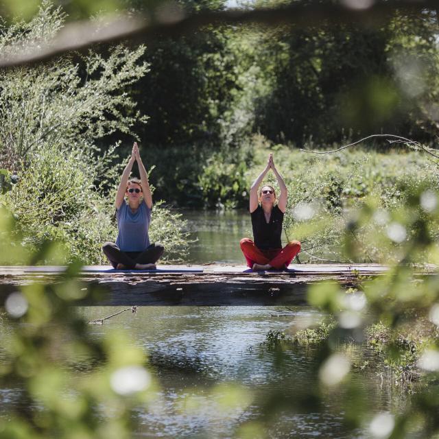 Epagne-Epagnette _ Yoga _ Maisonnette Les Aires en Scène © CRTC Hauts-de-France - Teddy Henin