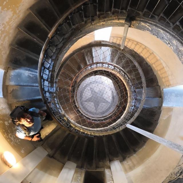 Calais, l'escalier du phare © CRTC Hauts-de-France - Edouard Kints