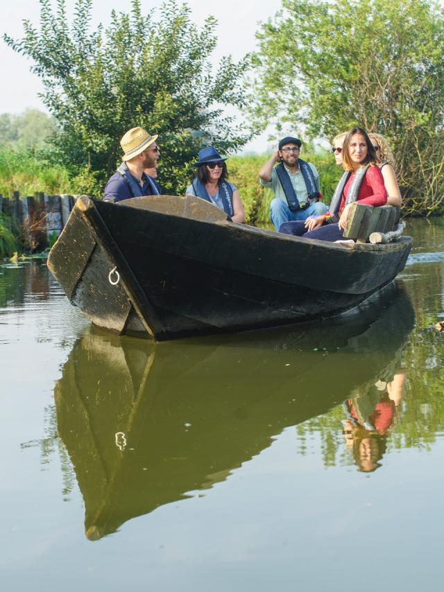 Clairmarais Faiseurs de bateaux bacôve © Tourisme en Pays De Saint Omer - P.Hudelle