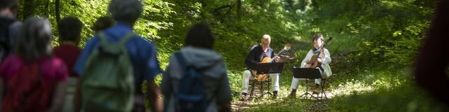 Compiègne_Festival des Forêts_balade musicale © Crtc Hauts de France - Benjamin Teissedre