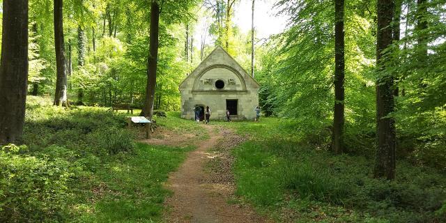 Villers-Cotterêts _ Forêt de Retz _ Ermitage Saint Hubert © Office de Tourisme Retz en Valois