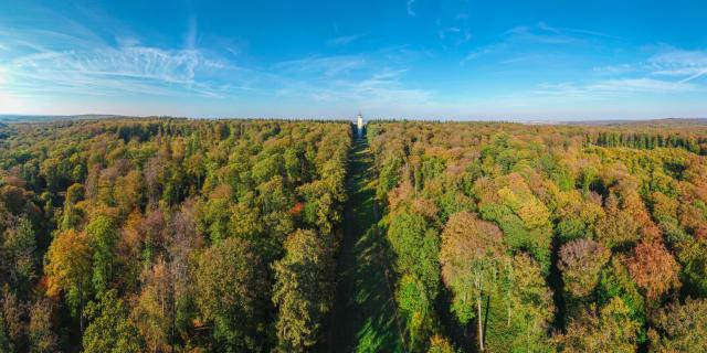 Villers-Cotterêts _ Forêt de Retz - © Office de Tourisme Retz en Valois Airndrone