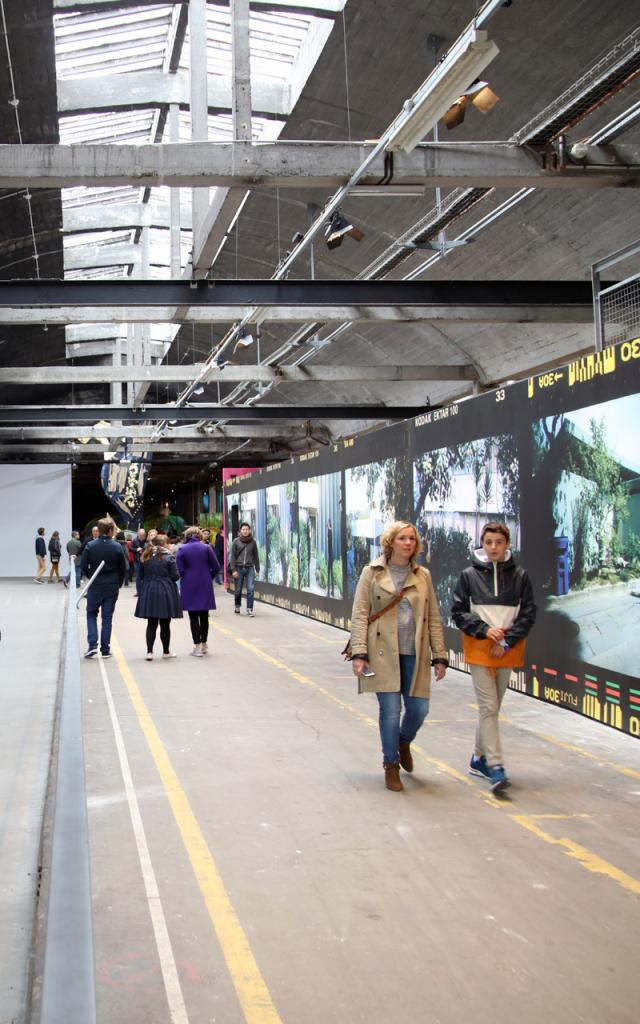 Lille _ Gare Saint Sauveur _ Eldorado 2019 © Lille 3000 - Maxime Dufour