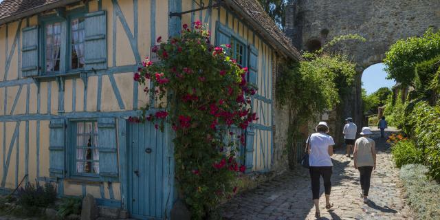 Gerberoy_Maison Bleue©CRTC Hauts-de-France_Stéphane Bouilland