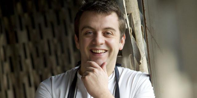 La Madelaine-sous-Montreuil _ Alexandre Gauthier chef du restaurant La Grenouillère © Anne-Sophie Flament