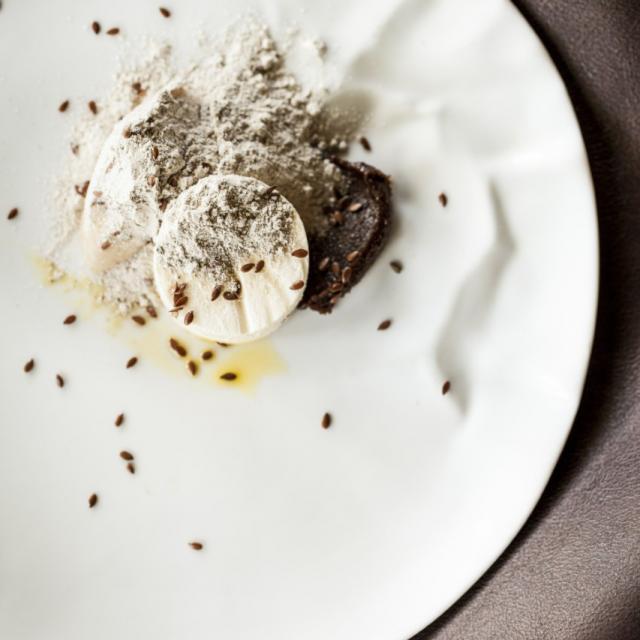 Lambersart_Restaurant L'Empreinte_Dessert Graines de lin©Restaurant L'Empreinte_Elise Debreu