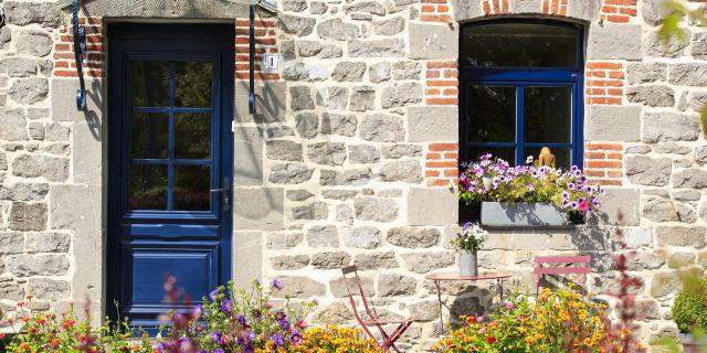 Lez-Fontaine, maison briques et pierres bleues ©CRTC Hauts-de-France - Anne-Sophie FLAMENT