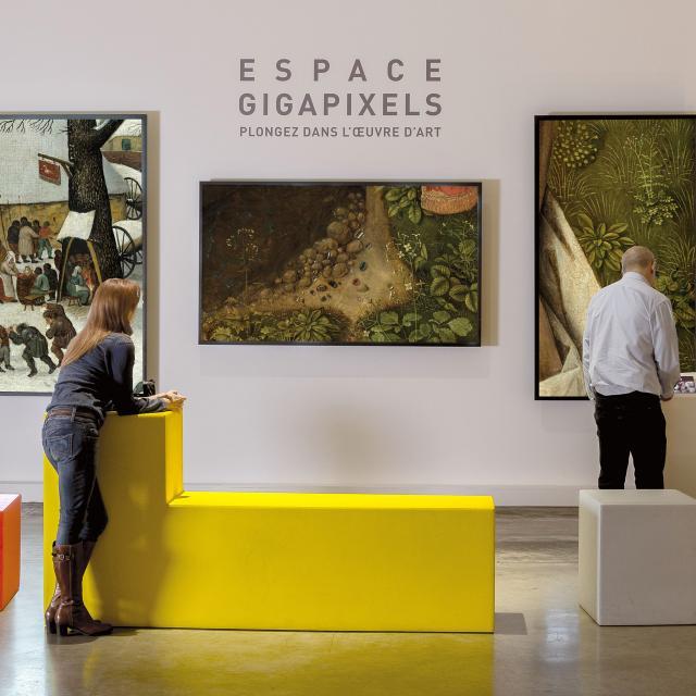 Lille _ Palais des Beaux-Arts _ Atrium Espace Gigapixels © Palais des Beaux-Arts de Lille – Jean-Marie Dautel