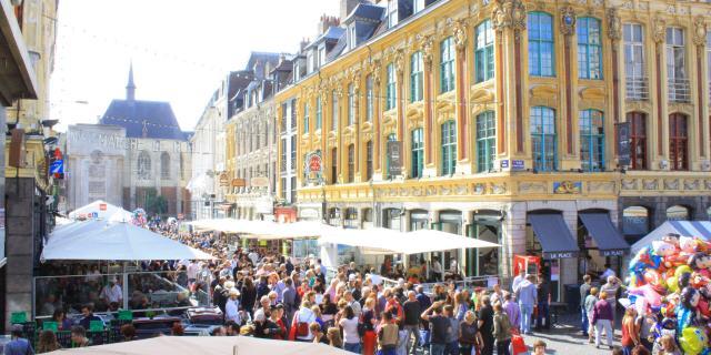 Northern France _ Lille _ flea market © Office de Tourisme de Lille - Olivier Duhamel