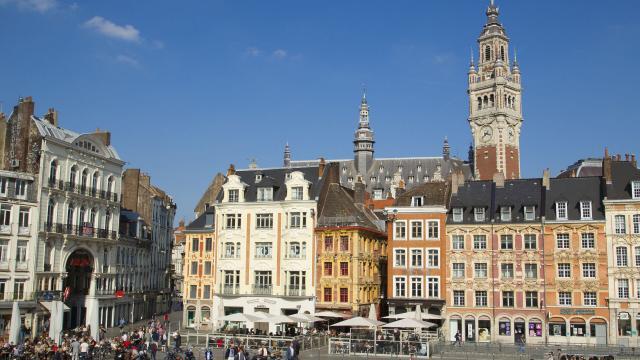 Lille _ Place du Général de Gaulle © CRTC Hauts-de-France - AS Flament