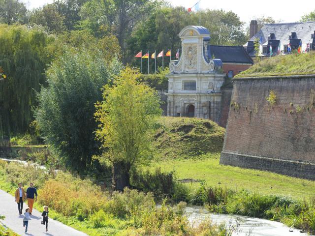 Lille _ Promenade en famille à la Citadelle © CRTC Hauts-de-France - AS Flament