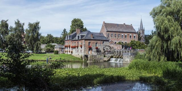 Maroilles, Le moulin à eau ©CRTC Hauts-de-France - Sébastien Jarry