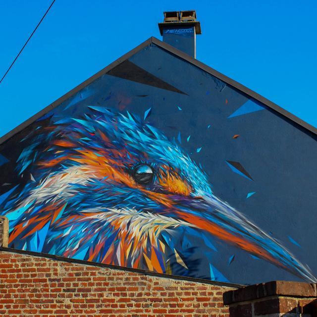 Saint-Quentin _ street art _ œuvre de Mehsos © Ville de Saint-Quentin - service culture