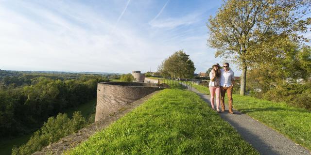 Montreuil-sur-Mer _ Vue des remparts © CRTC Hauts-de-France - Benoit Bremer