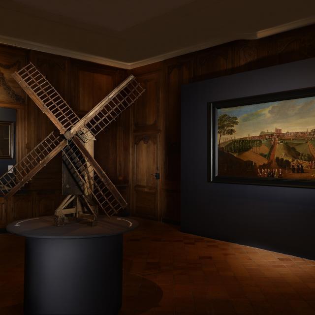 Cassel _ musée de Flandre _ salle de la Châtellenie © Dominique Silberstein