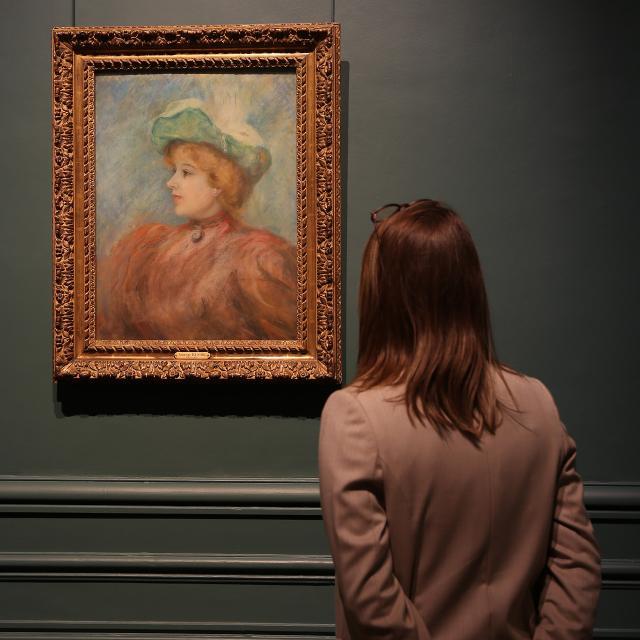 Saint-Quentin _ musée des Beaux-Arts Antoine Lécuyer _ tableau de Renoir © Luc Couvée