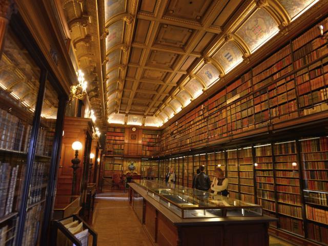 Chantilly _ Bibliothèque du musée © CRTC Hauts-de-France - Nicolas Bryant