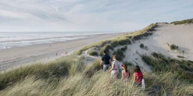 Quend-Plage_Promenade dans les dunes ©CRTC Hauts-de-France - Teddy Henin