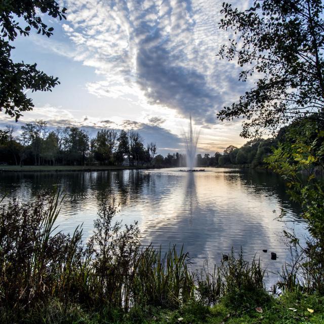Raismes, Base de loisirs, Parc loisirs et nature de la Porte du Hainaut ©CRTC Hauts-de-France - Sebastien JARRY