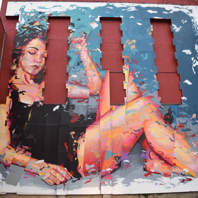 Saint-Quentin _ street art _ œuvre de Rémy Uno © Ville de Saint-Quentin - service culture