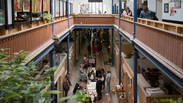 Roubaix _ les Ateliers Jouret _ green market © Les Ateliers Jouret - Delphine Barbry