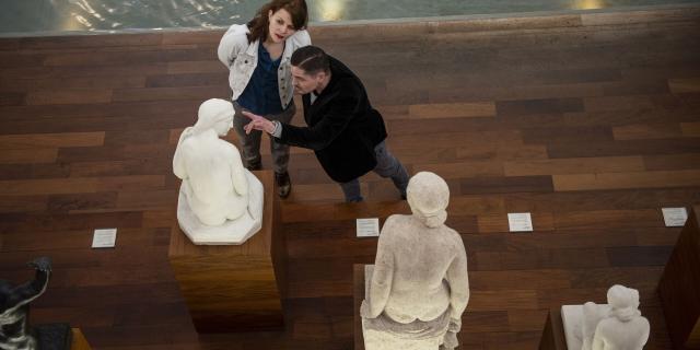 Roubaix _ Musée La Piscine _ le bassin des sculptures © CRTC Hauts-de-France - Benjamin Teissedre