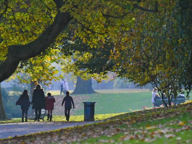 Roubaix_Parc Barbieux en automne
