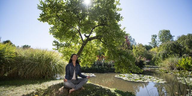 Saint-Paul _ Jardin Van Beek _Relaxation Zen © CRTC Hauts-de-France - Benjamin Teissedre
