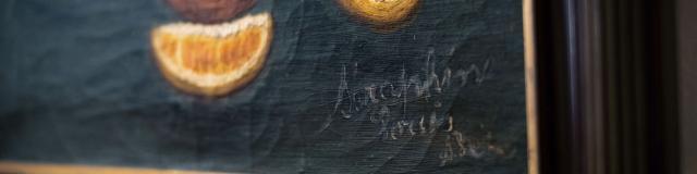Senlis _ musée d'art et d'archéologie _ peinture de Séraphine de Senlis © CRTC Hauts-de-France - Teddy Henin