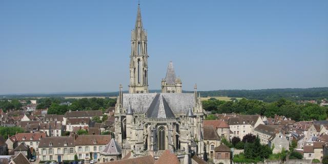 Senlis _ Cathédrale Notre-Dame _ Vue Générale © Chantilly Senlis Tourisme