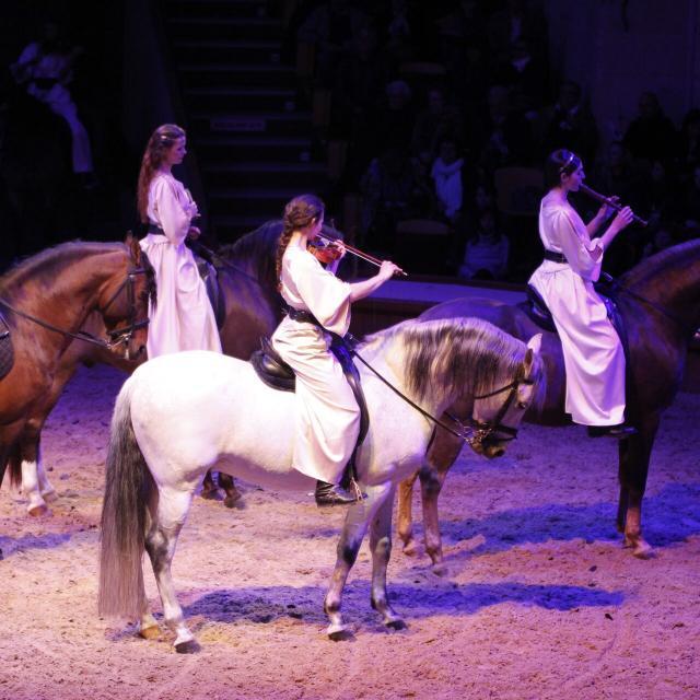 Chantilly _ Grandes Ecuries _ Spectacle équestre © CRTC Hauts-de-France - Jean Luc Verbrugghe