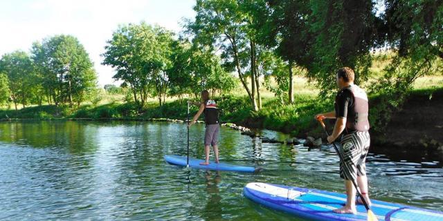 Lille, Stand Up Paddle sur la Deûle ©le Grand Huit Jb Degandt