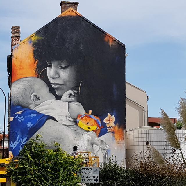Saint-Quentin _ street art © OTC du Saint-Quentinois - Marjorie Richard