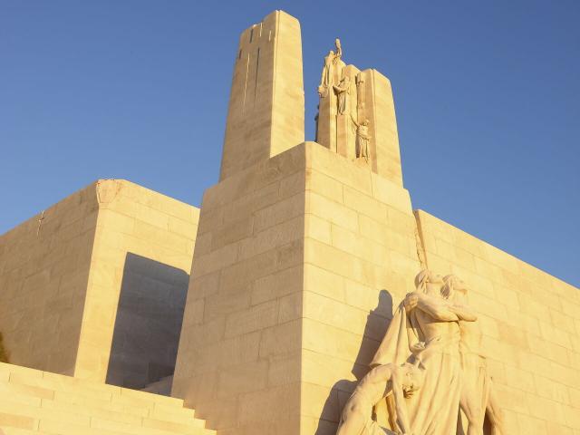 Vimy _ Site du Mémorial et Parc commémoratif du Canada _ Vue sur le bassin Minier © CRTC Hauts-de-France – Samuel Dhote