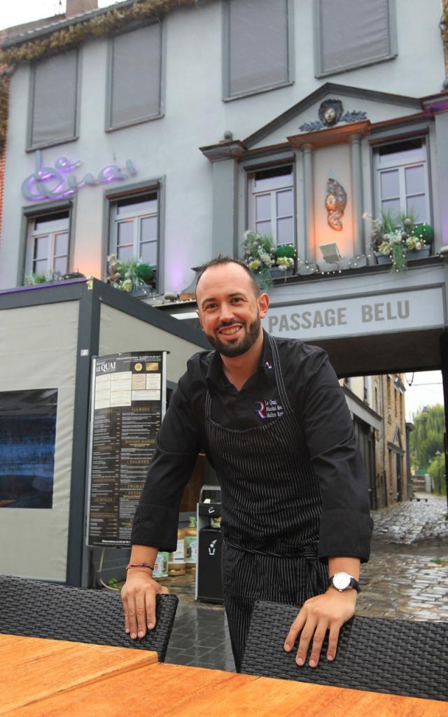 Amiens, Le Quai, Chef Nicolas Medkour © Restaurant Le Quai