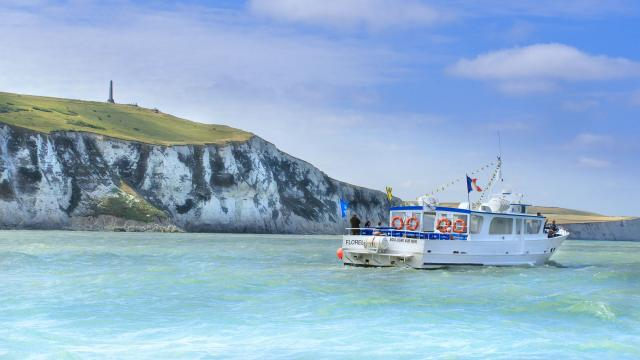 Cap Blanc Nez_le florelle_bateau promenade au départ de boulogne sur mer
