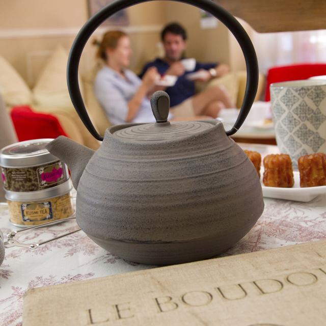 Chantilly, Le boudoir, salon de thé ©CRTC Hauts-de-France - Anne-Sophie Flament