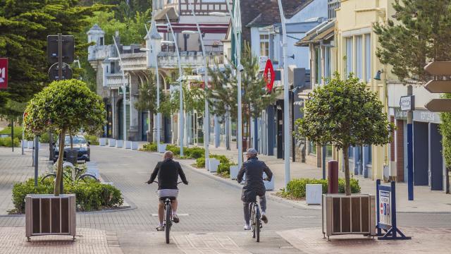 Le Touquet _ Vélo dans la Ville © Ishak Najib