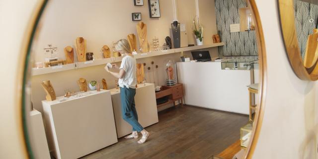 Lille _ Boutique de la créatrice de bijoux Virginie Monroe © CRTC Hauts-de-France - AS Flament