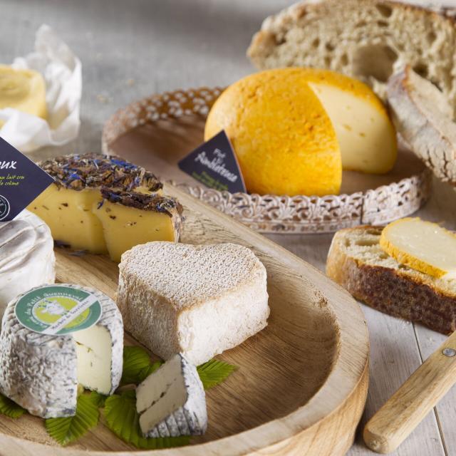 Plateau de fromages des Hauts-de-France ©CRTC Hauts-de-France - Anne-Sophie FLAMENT