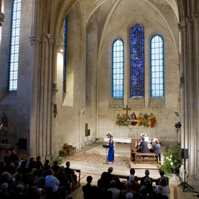 Saint-Jean-aux-Bois_Festival des forets_aubade julie cherrier soprano et denis comtet orgue© CRTC Hauts-de-France-Anne-Sophie Flament