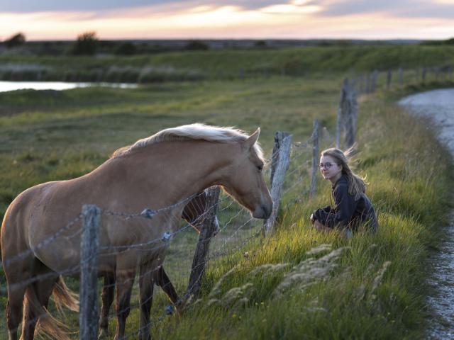 Somme _ Une fillette et un Henson © CRTC Hauts-de-France - Nicolas Bryant