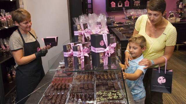 Wimereux, chocolats de Beussent ©CRTC Hauts-de-France - Anne-Sophie Flament