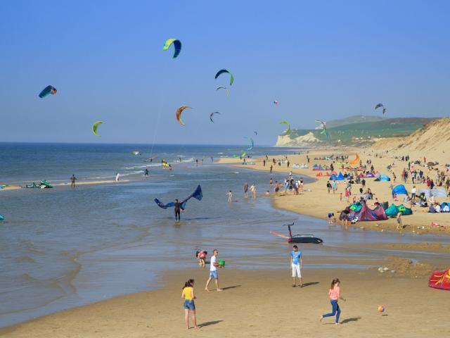 Wissant, la plage en été © CRTC Hauts-de-France - Anne-Sophie Flament