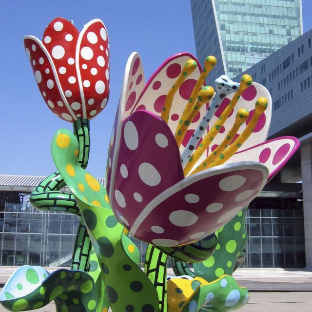 Lille_Euralille_Les Tulipes De Shangri La ©office De Tourisme De Lille_Laurent Ghesquiere