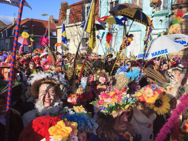 Carnaval de Dunkerque dans le quartier Rosendael.